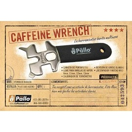 PALLO Caffeine Wrench Multi Function Barista Tool
