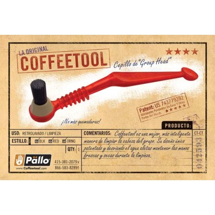 PALLO RED GROUP HEAD BRUSH
