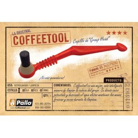 PALLO BLACK GROUP HEAD BRUSH