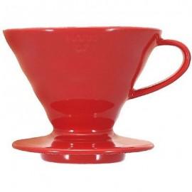 V60 02 Hario ceramico rojo