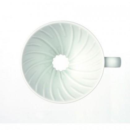 V60 02 Hario ceramico blanco
