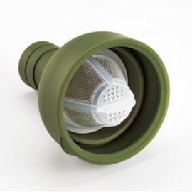 Botella con filtro Hario verde