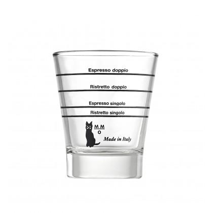 vaso de café graduada en vidrio de Set 6pcs