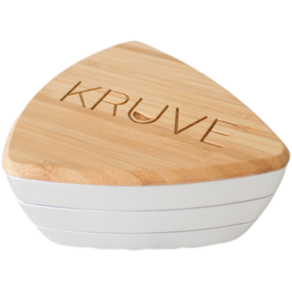 KRUVE SIFTERS CON 6 TAMICES PLATEADO