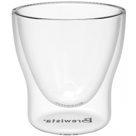 BREWISTA ROUND DOUBLE CRYSTAL MEASURING CUP 60 ML.