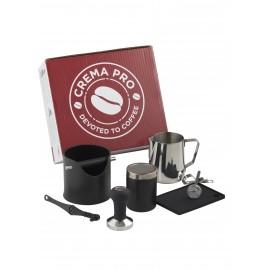 Barista Kit Crema Pro Black