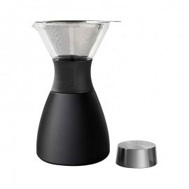 Cafetera portátil ASOBU pour over negra
