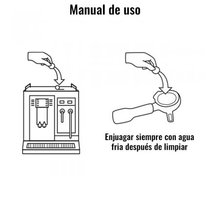 Espresso machine pastillas orgánicas