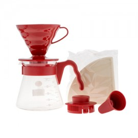 Set Hario V60 02 red