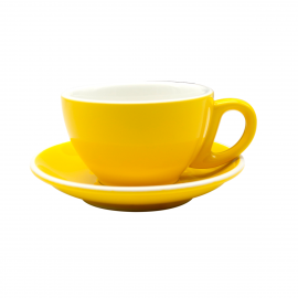 TAZA EPIC CAPPUCCINO AMARILLO 230ML