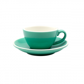 TAZA & PLATO EPIC LATTE VERDE 180ML