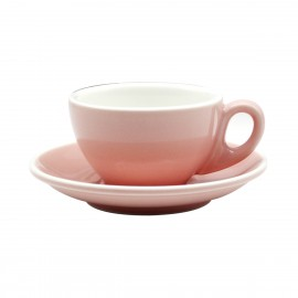 TAZA & PLATO EPIC LATTE ROSA 180ML