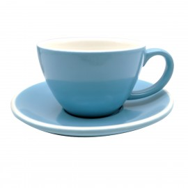 TAZA & PLATO EPIC BREAKFAST AZUL 280ML