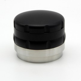 SB Tamper/Distribuidor negro 58mm base plana