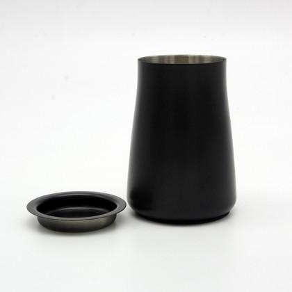 Dosificador de Studio Barista para portafiltros negro