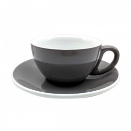 TAZA & PLATO EPIC LATTE GRIS 230ML