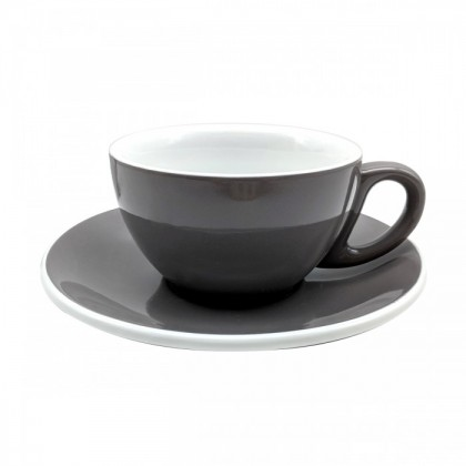 CUP & PLATE EPIC CAPPUCCINO GRAY 230ML