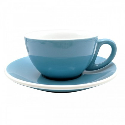CUP & PLATE EPIC CAPPUCCINO BLUE 230ML