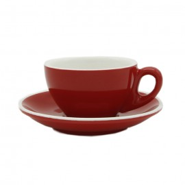 CUP & PLATE EPIC CAPPUCCINO RED 230ML