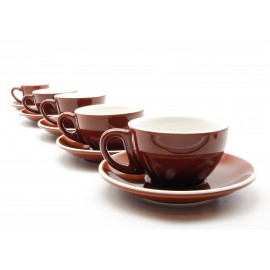 CUP & PLATE EPIC FLAT WHITE CARAMEL 150ML