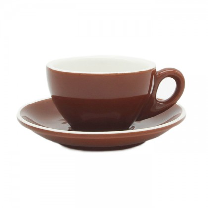 TAZA & PLATO EPIC LATTE CARAMELO 180ML