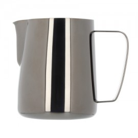 BARISTA HUSTLE MILK PITCHER BLACK METALLIC 0.6L