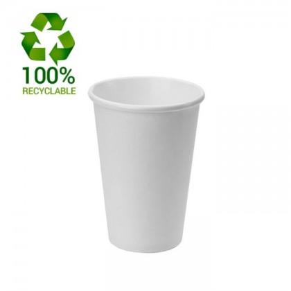 Vasos take away blanco 120ml