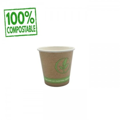 VASO PAPEL COMPOSTABLE 120ML
