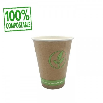 VASO PAPEL COMPOSTABLE 240ML