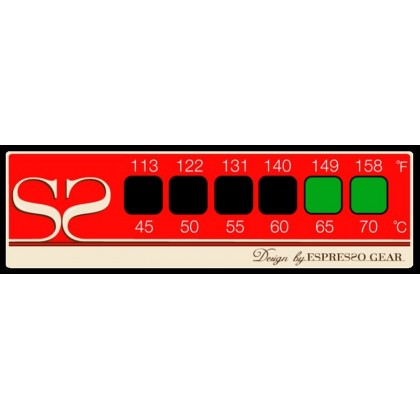 Termómetro adhesivo