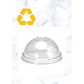 Tapas Cupula PET con agujero 360ml