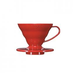 V60 01 Hario ceramico rojo