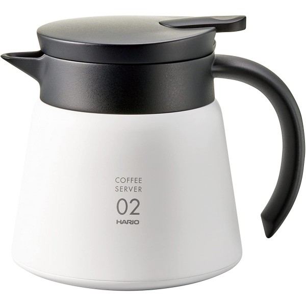 Hario coffee jug 600ml white