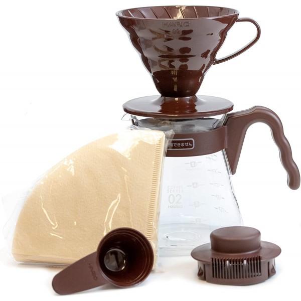 kit Hario V60 02 Chocolate/...