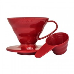 Hario V60 01 rojo plastico
