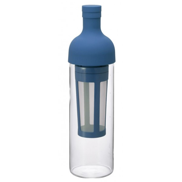 Bottle with filter coffee...