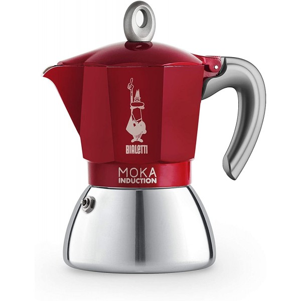 BIALETTI INDUCTION RED 6TZ
