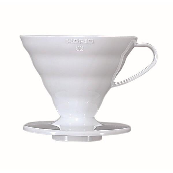 HARIO V60 02 WHITE PLASTIC