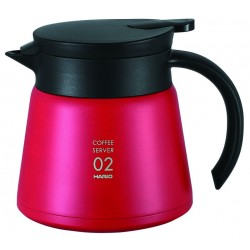 HARIO RED COFFEE SERVER 800ML