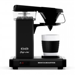 MOCCAMASTER CUP ONE NEGRO MATE