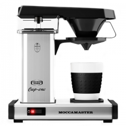 MOCCAMASTER CUP ONE SILVER
