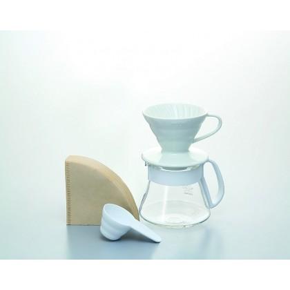 Kit Hario 01 V60 Blanco