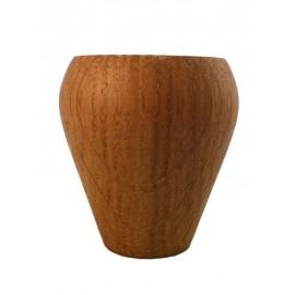 Mango barista de madera de roble