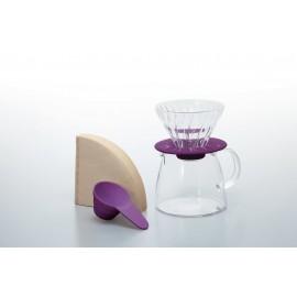 Hario 01 V60 + jarra Purpura KIT