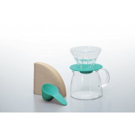 Hario V60 01 + Pot - Light Green